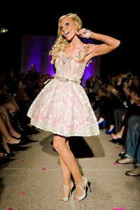 Kyle Unfug in Fashionably Pink Charity Show