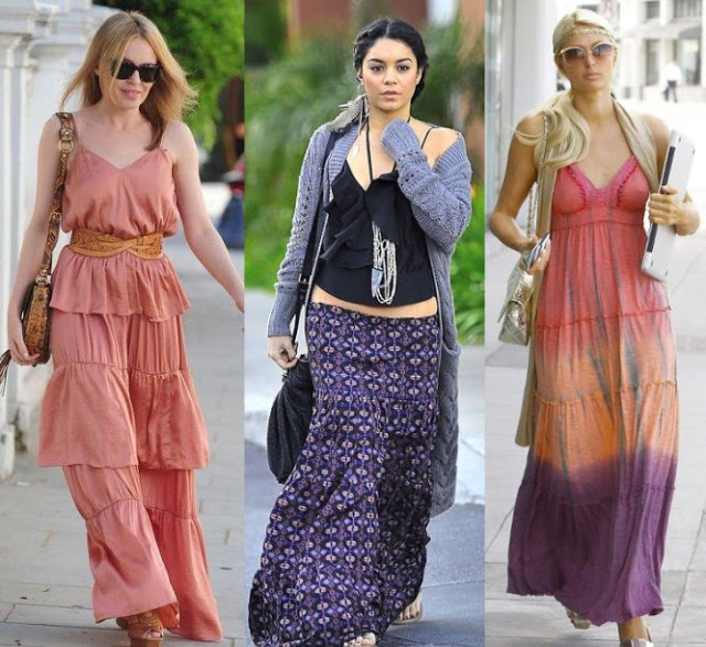 Maxi Dress Celebrities